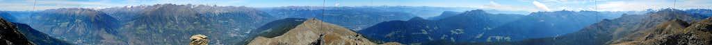 360° summit panorama Naturnser Hochwart
