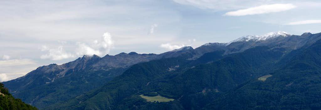 Naturnser Hochwart / Guardia Alta di Naturno and Rontscher Berg / Monte dei Romici