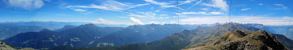 Summit view Naturnser Hochwart / Guardia Alta di Naturno