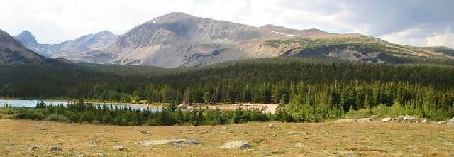 Brainard Lake under Mount...