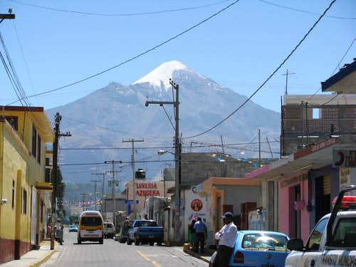 Orizaba from Tlachichuca