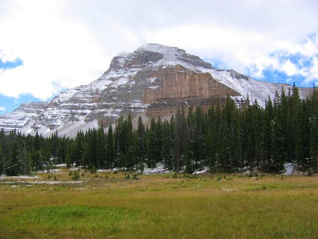 Ostler Peak as seen from the...