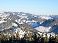 Mountains Bukovina