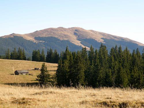 Peak Giumalau & Mountains Rarau