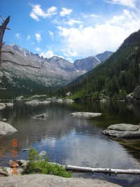 Panorama from Mill s lake