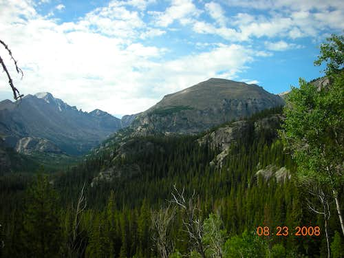 View from near Dream Lake