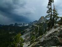 Stormy Crystal Crag