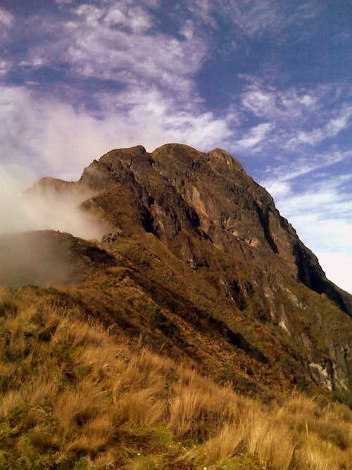 Imbabura Northern summit.