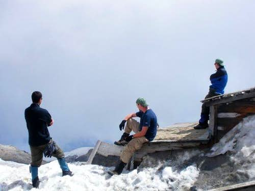 Shed on Mount Adams Summit
