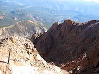 North Face Pikes Peak