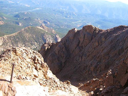 North Face Pikes Peak