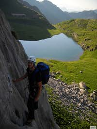 Climbing in Avostanis