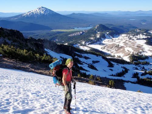 Mount Bachelor And Devils Lake