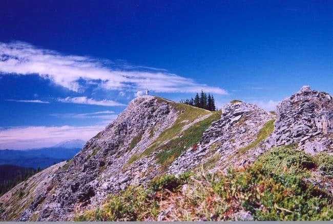 Summit of Tomlike Mountain...
