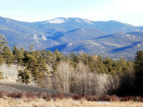 Topaz Mountain from the southwest