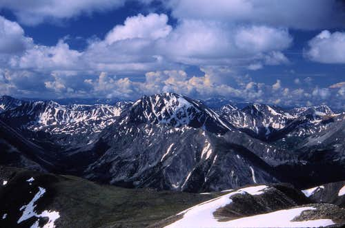 La Plata from Mt. Elbert