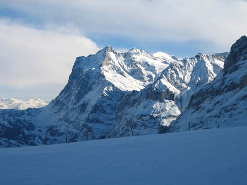 The Wetterhorn from Kleine Scheidegg