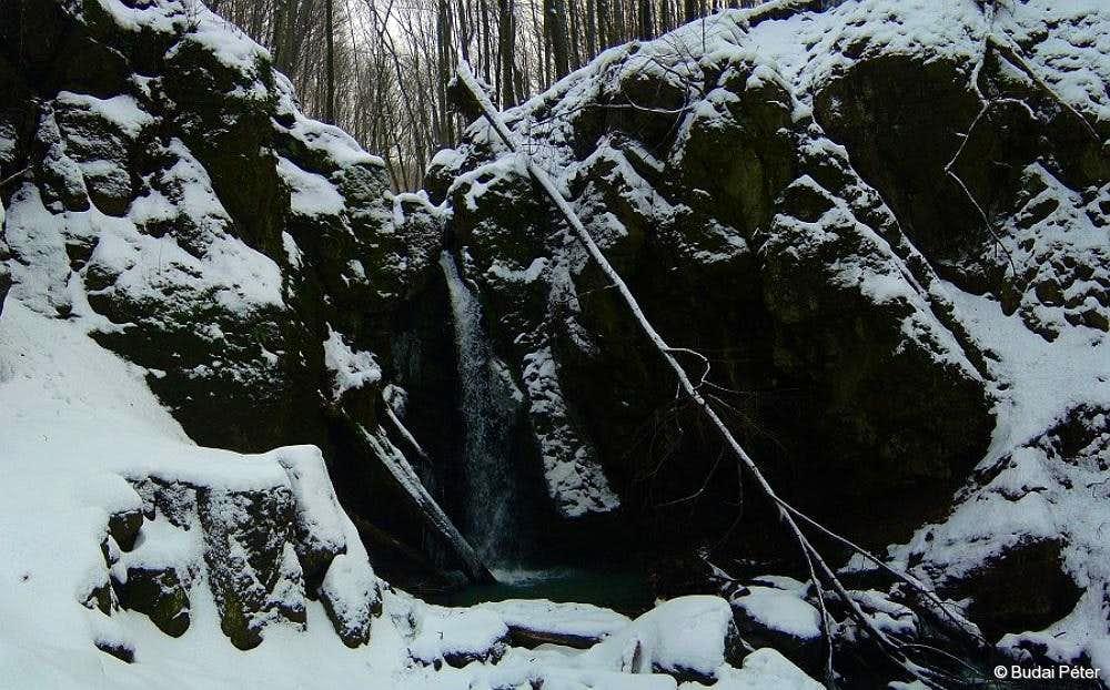 Waterfall of Ilona-völgy - 1