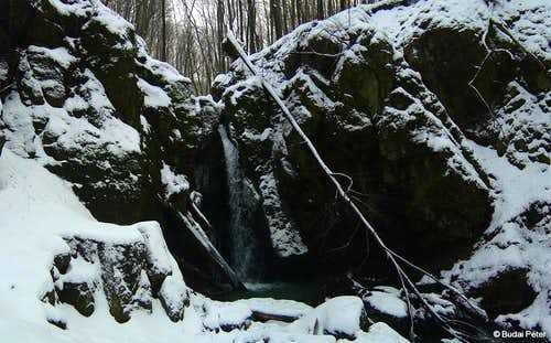 Waterfall of Ilona-völgy - 1