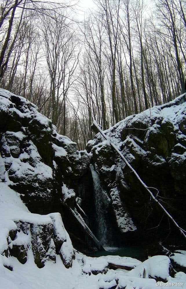 Waterfall of Ilona-völgy - 2