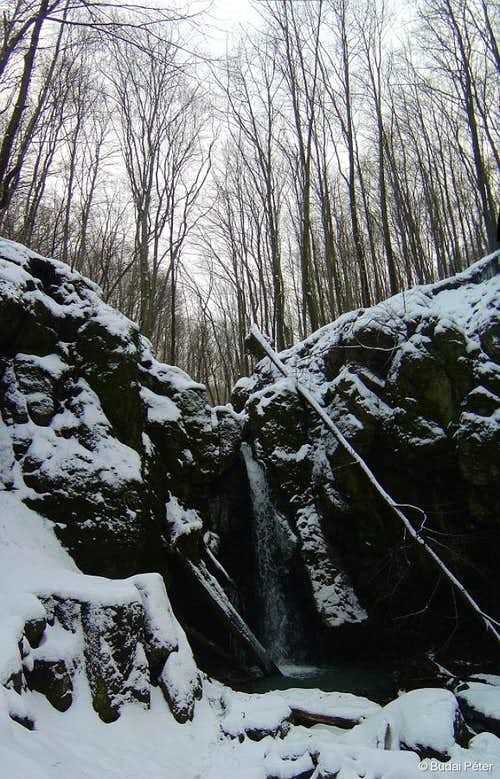 Waterfall of Ilona-völgy - 2