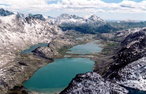 The Titcomb Basin as seen...