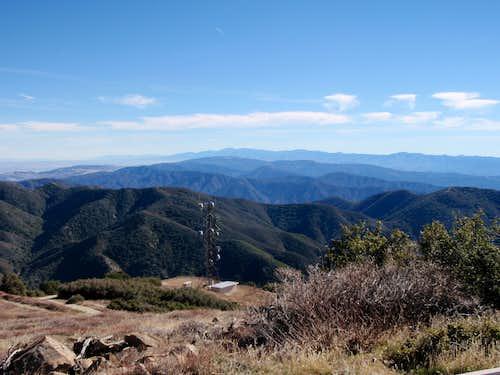 San Gabriel Mts.