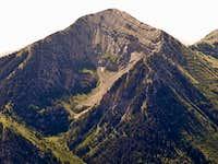 Boxelder Peak from Bighorn Peak