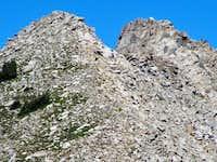 Closeup of Lone Peak from Bighorn Peak