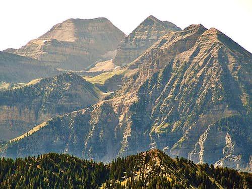 Closeup of Timp from Bighorn Peak