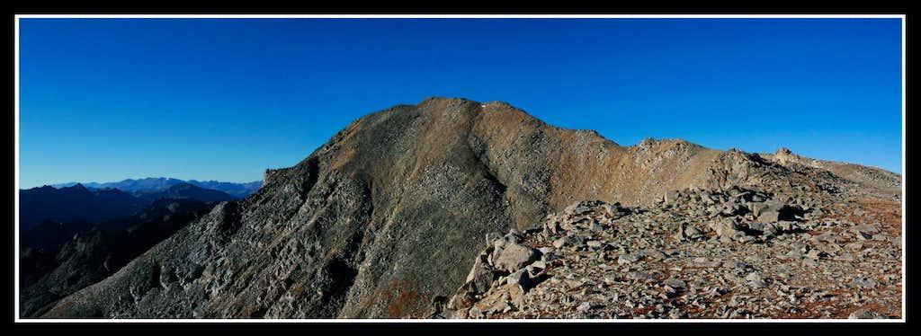 Mt Jackson comes into view