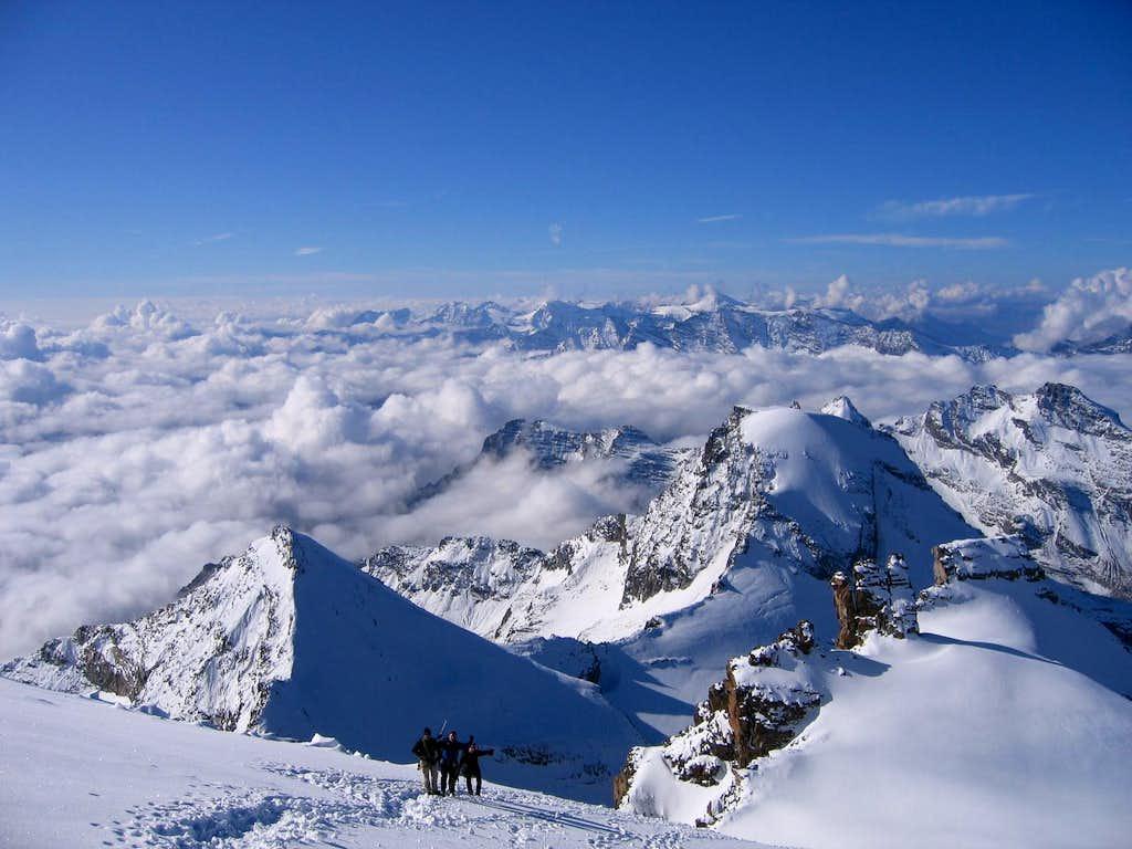 Ascending the Gran Paradiso Glacier