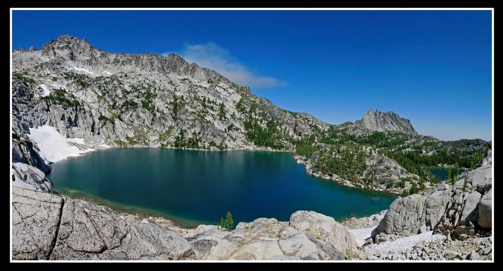 The upper Enchantment Lakes