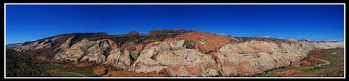 Halls Creek Overlook Pano