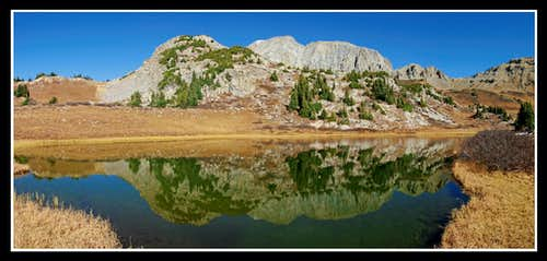 Hagerman Peak Reflection