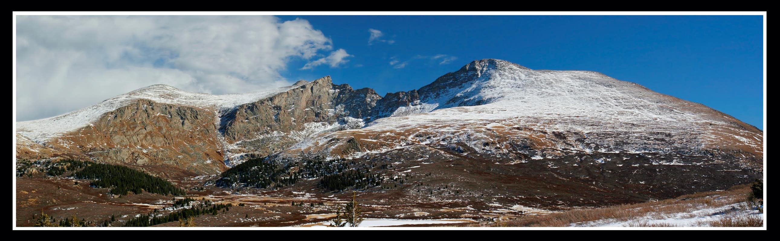 Mt. Bierstadt and the Sawtooth