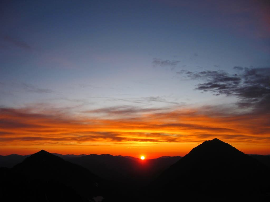 Quandary Peak sunrise from Drift