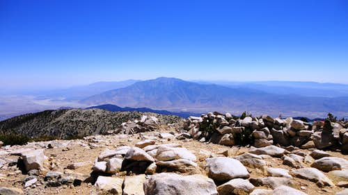 San Jacinto from San Gorgonio's summit