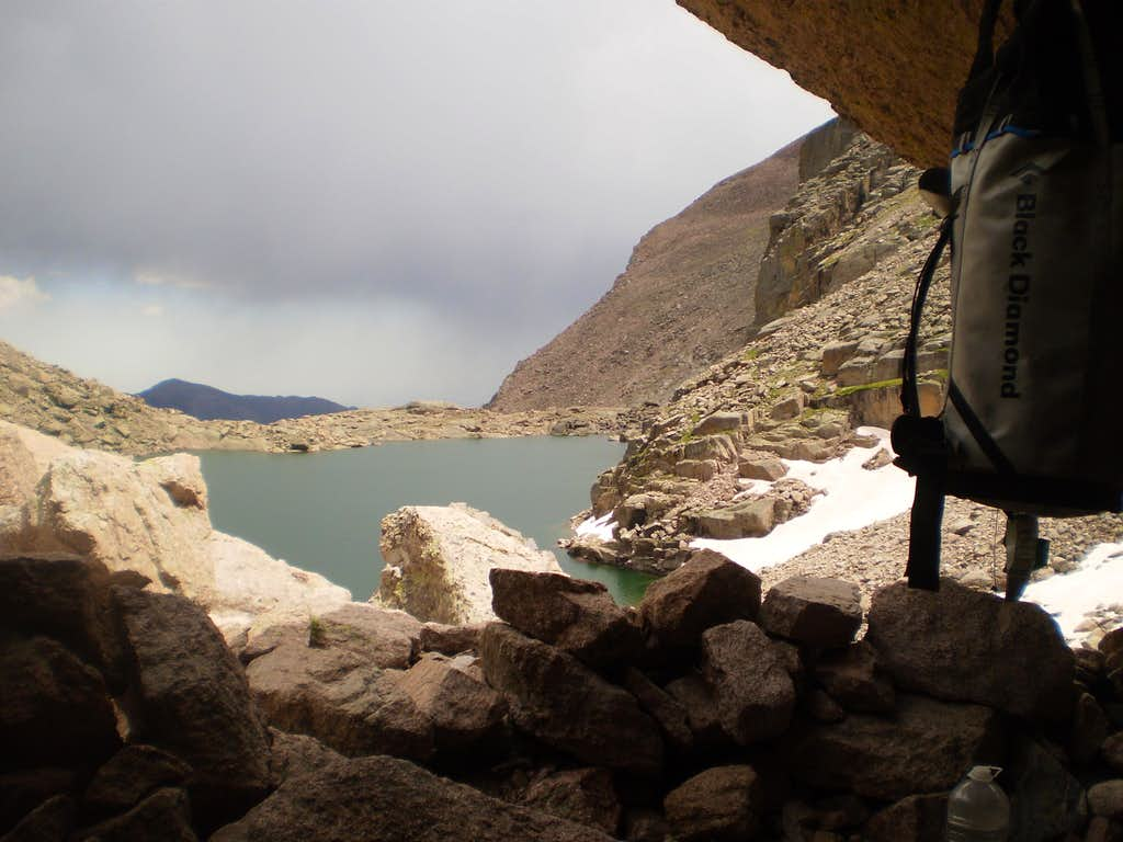Paradise: The Bivy above Chasm Lake