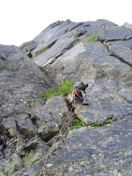 On the Central Buttress