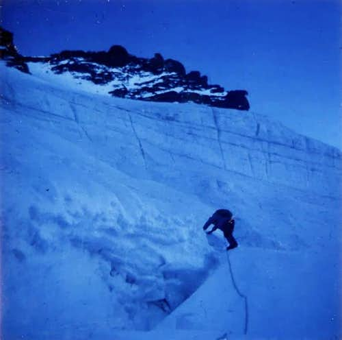 Gran Paradiso NW Wall without lights