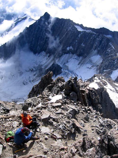 Southeast Ridge of Weissmies