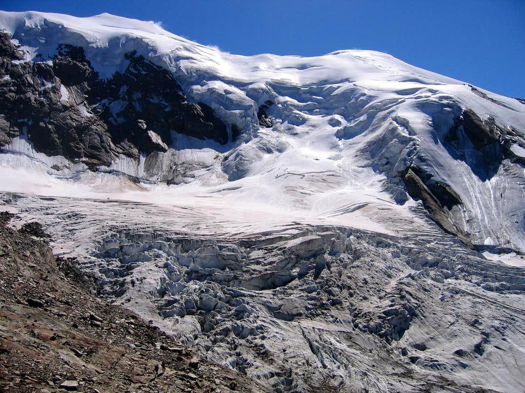 Trift Glacier on Weissmies