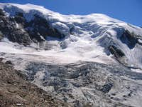 Trift Glacier on Weissmies