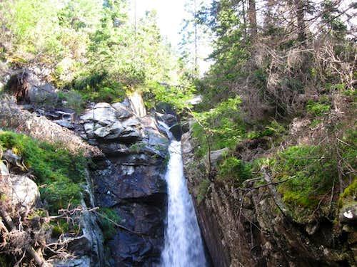 Obrovsky vodopad waterfall