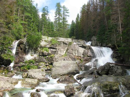 Velky vodopad waterfall
