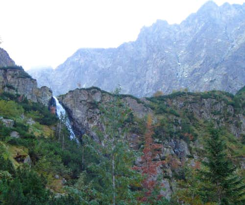 Hviezdoslavov vodopad waterfall