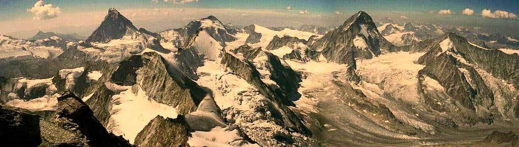 Matterhorn - Obergabelhorn - Dent Blanche