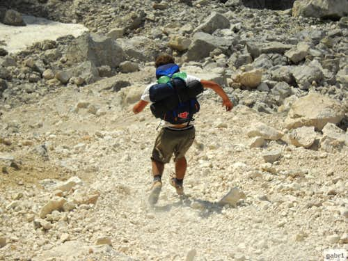 Running down the scree