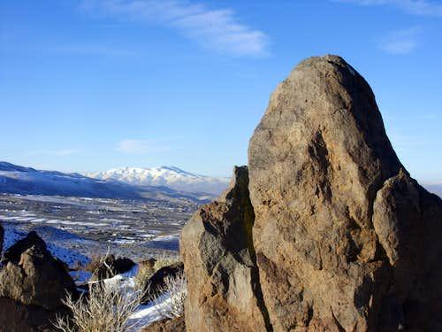 Peavine Peak 8266' from the ridge